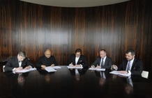 News: Today the Design Team Signed a Contract with Brno's Leaders for a New Concert Hall
