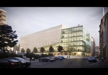 The Design Team has just Presented a Visualisation of the Proposed Janáček Cultural Centre