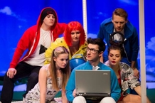 Life Without the Internet in the Divadlo na Orlí: The Original Musical Offline!