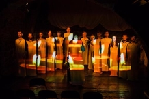 In an Old Photo: Today's premiere of the ÚstaF-voiceband.cz ensemble