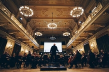 When music paints and painting sounds: Brno Philharmonic welcomed visual artist Cori O'Lan