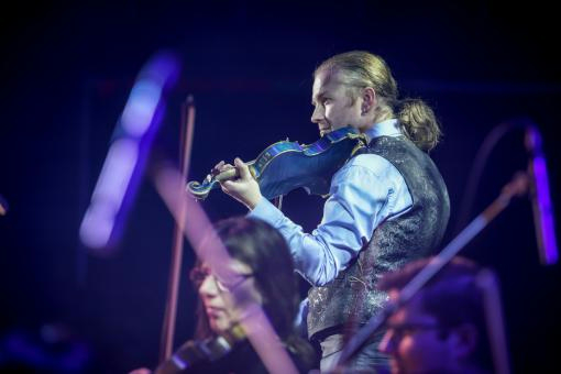 About Brno's Christmas on the Blue Violin