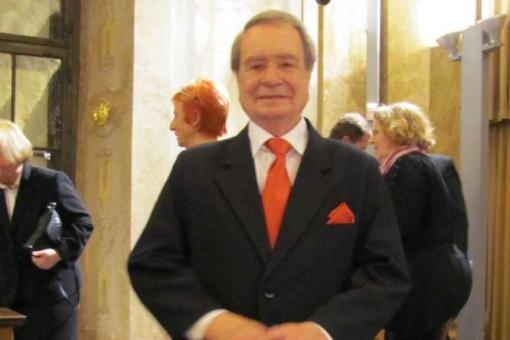 Erik Knirsch, conductor and musician of the Studio Brno Orchestra died