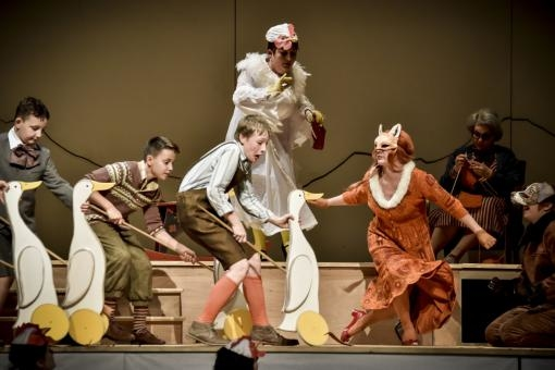 The Janáček Theatre Opens with a Premiere of the Opera The Cunning Little Vixen