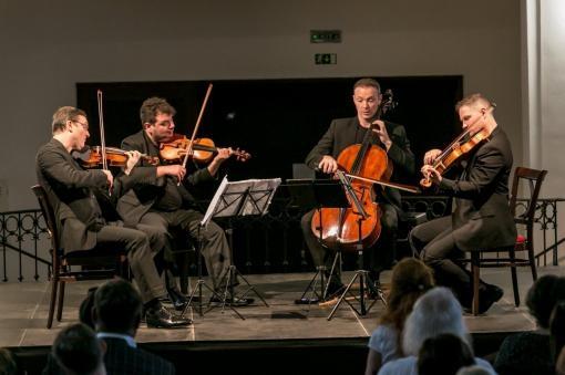 Jerusalem Quartet with tender expressiveness