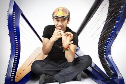 Edmar Castañeda: I was born for the harp