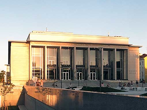 An open air concert will open the new season of the National Theatre Brno