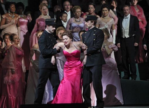 The season of broadcasts from the Metropolitan Opera begins. Featuring Anna Netrebko, Joyce DiDonato and Yusif Ayvazov