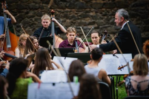 The  Young Brno Symphony Orchestra will celebrate its 25th anniversary