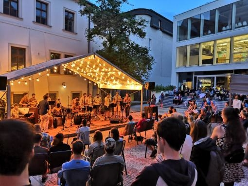 The Jazz Courtyard Will Once Again Make the Old Town Hall Resound with Music