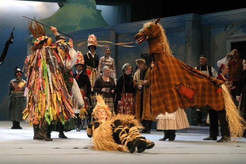 Summer Menu of the National Theatre Brno: 100th Rerun of The Bartered Bride