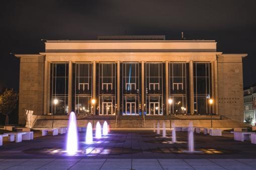 The Janáček Theatre building has been serving art for 55 years now
