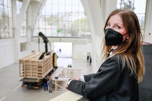News: Acoustic model of the hall of the Janáček Cultural Centre arrives in Brno